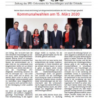 Zeitung des SPD-Ortsvereins für Treuchtlingen und die Ortsteile